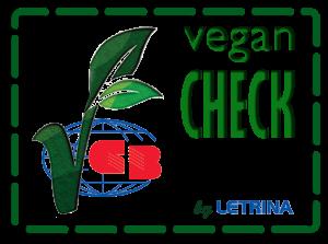 vegan check logo